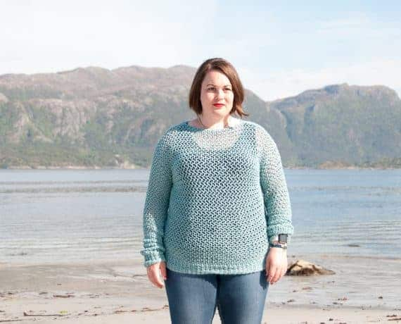 Spring Sweater Crochet Pattern Design – Skill Level Easy