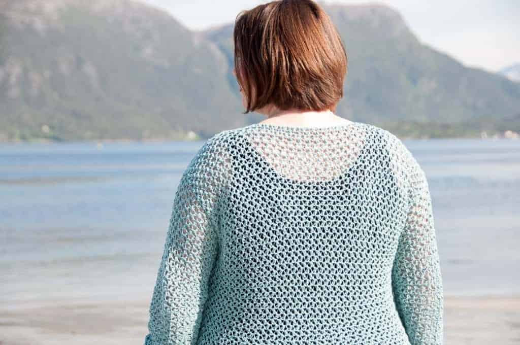 spring sweater crochet pattern choose yarn for crochet garment