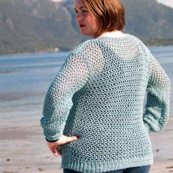 Lacy Cotton Women's Bundle spring sweater crochet pattern