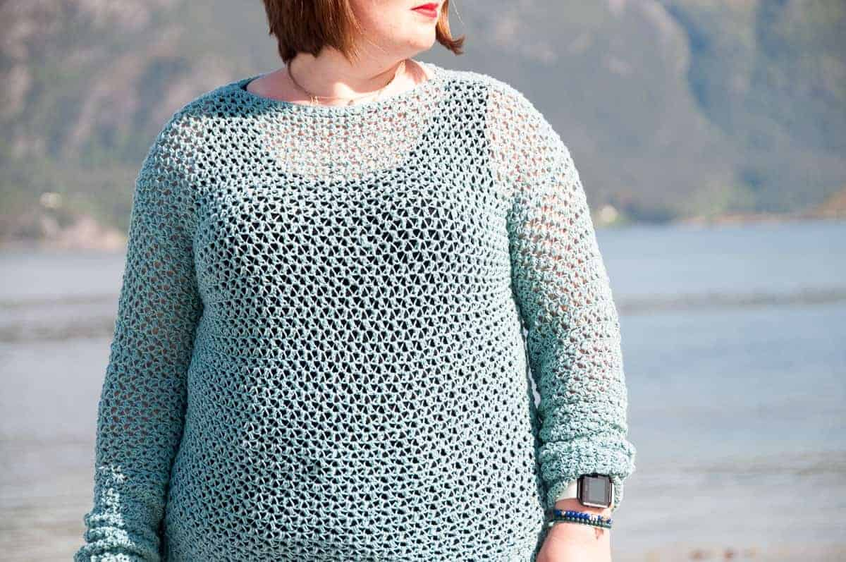 spring sweater crochet pattern