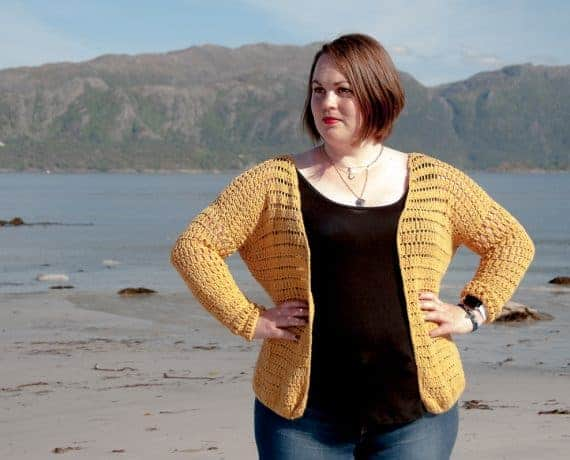 Summer Cardigan Crochet Pattern Design – Skill Level Easy