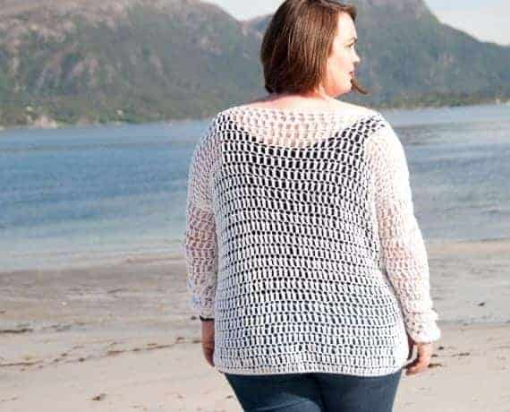 Summer Sweater Crochet Pattern Design – Skill Level Easy