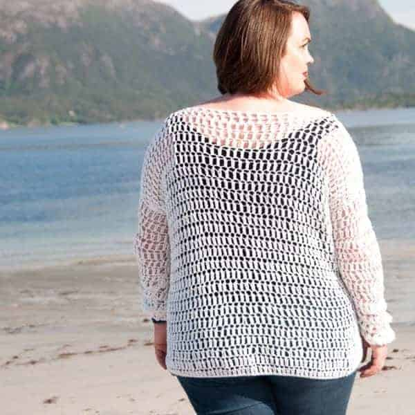 Lacy Cotton Women's Bundle summer sweater crochet pattern