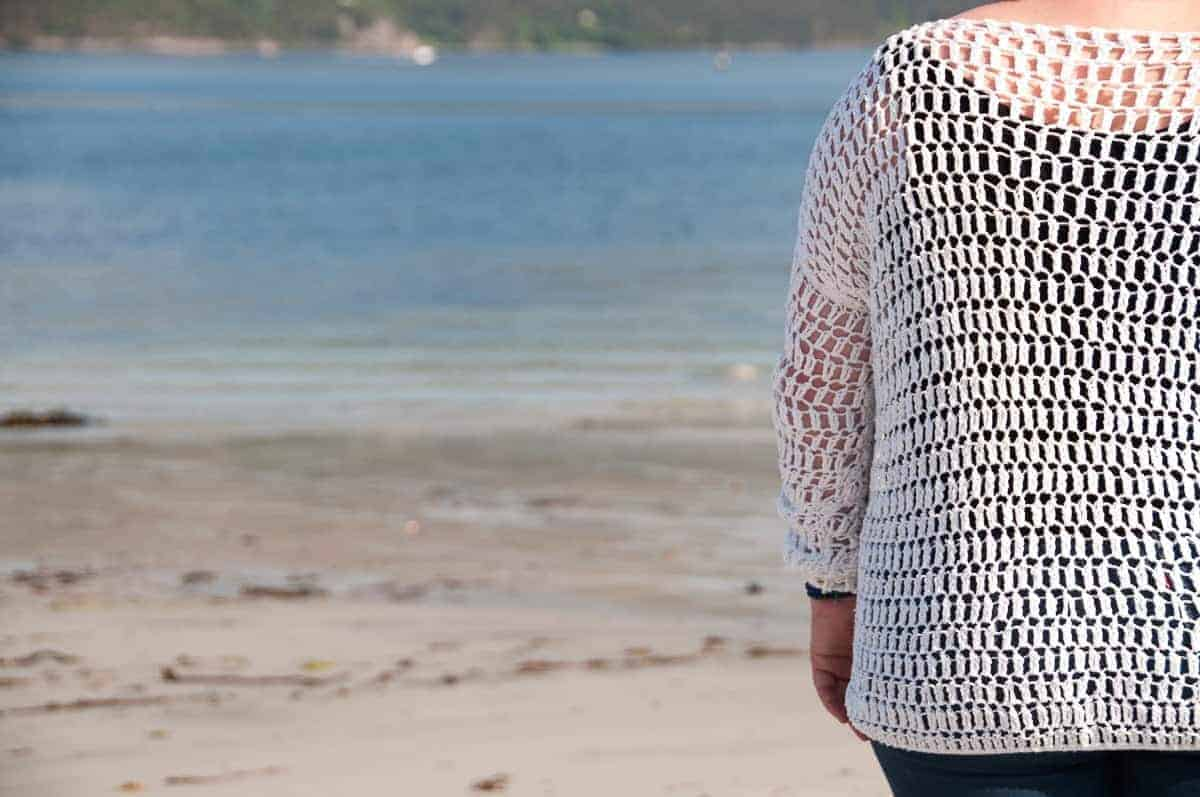 summer sweater crochet pattern
