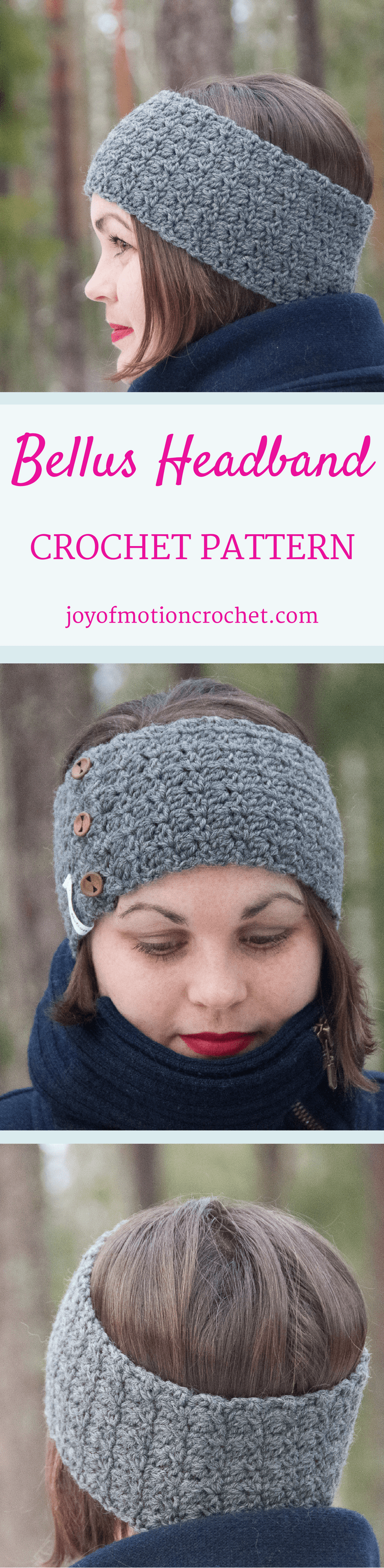 The Bellus headband. Crochet pattern for a warm winter headband.| Headband crochet patterns.. Beanie crochet patterns. Warm crochet pattern. Headband crochet designs. Easy patterns. Winter crochet patterns. Customize crochet pattern headband. Women's crochet pattern headband. Crochet pattern headband. Headband crochet pattern unisex. Click link to learn more.