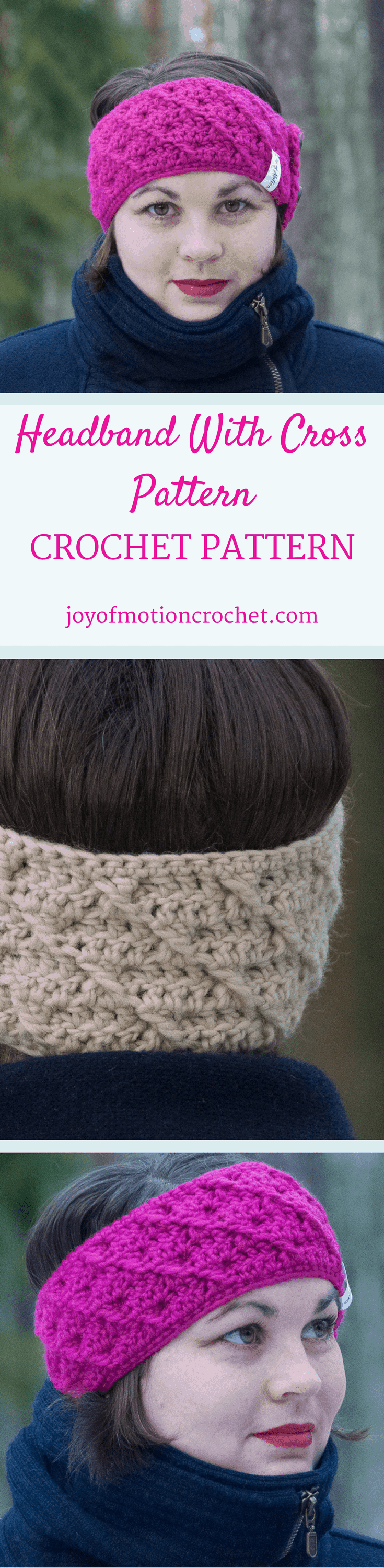 The Headband with cross pattern. Crochet pattern for a warm winter headband.| Headband crochet patterns.. Beanie crochet patterns. Warm crochet pattern. Headband crochet designs. Easy patterns. Winter crochet patterns. Customize crochet pattern headband. Women's crochet pattern headband. Crochet pattern headband. Headband crochet pattern unisex. Click link to learn more.
