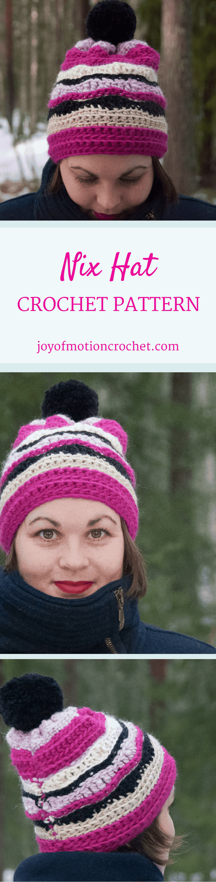 The Nix hat. Crochet pattern for a warm winter hat. This beanie pattern has a huge size range from 12 months to adult size| Hat crochet patterns. Crochet pattern hats. Beanie crochet patterns. Hood crochet pattern. Hat crochet designs. Slouchy hat patterns. Slouchy beanie crochet patterns. Animal crochet pattern hats. Women's crochet pattern hat. Baby crochet pattern beanie. Beanie crochet pattern children's. Click link to learn more.