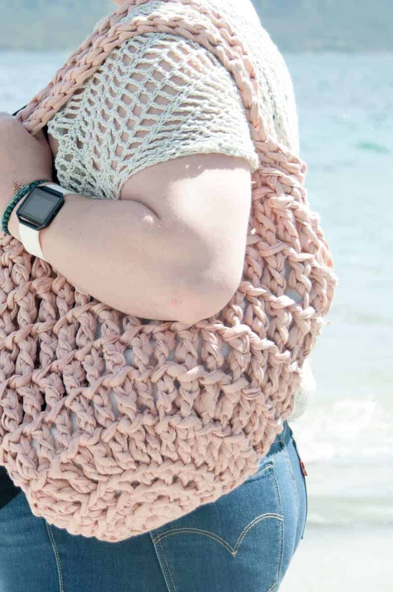 Litus Beach Bag Crochet Pattern Bull Easy