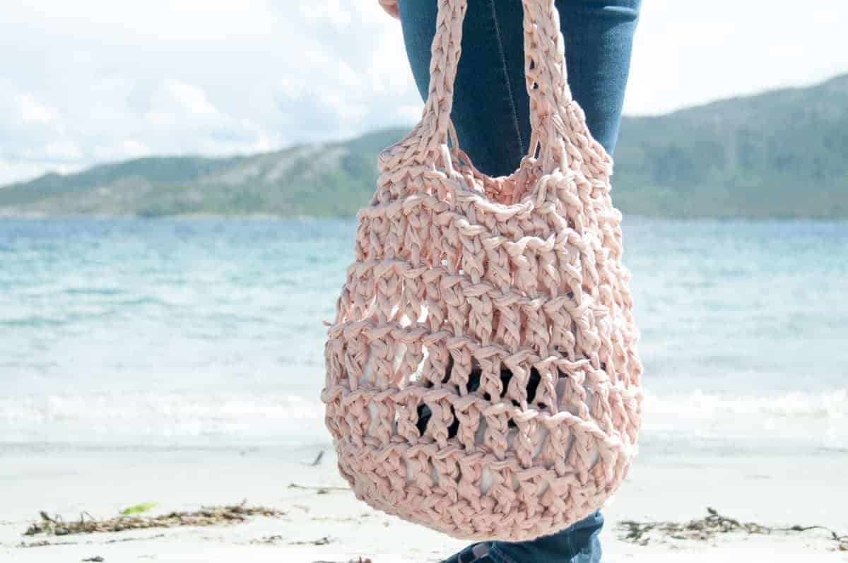 litus beach bag crochet pattern joy of motion. Black Bedroom Furniture Sets. Home Design Ideas