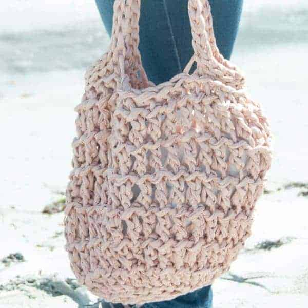 litus beach bag crochet pattern design
