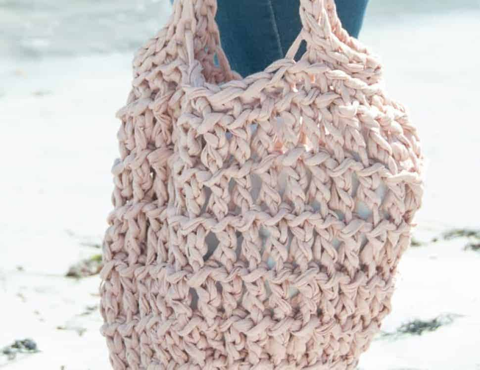 Litus Beach Bag Crochet Pattern Design Easy Crochet Joy Of Motion