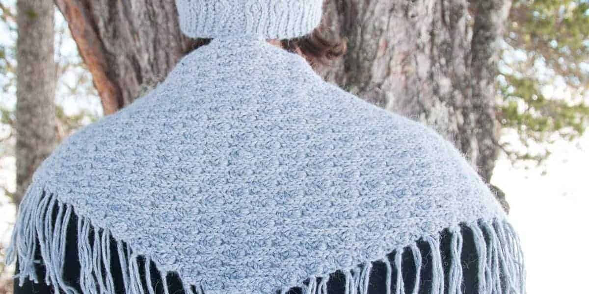 mitis shawl crochet pattern design
