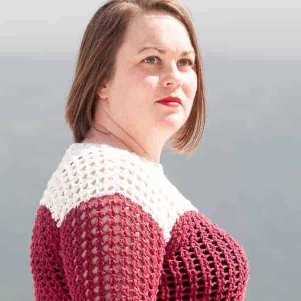 motu sweater crochet pattern design