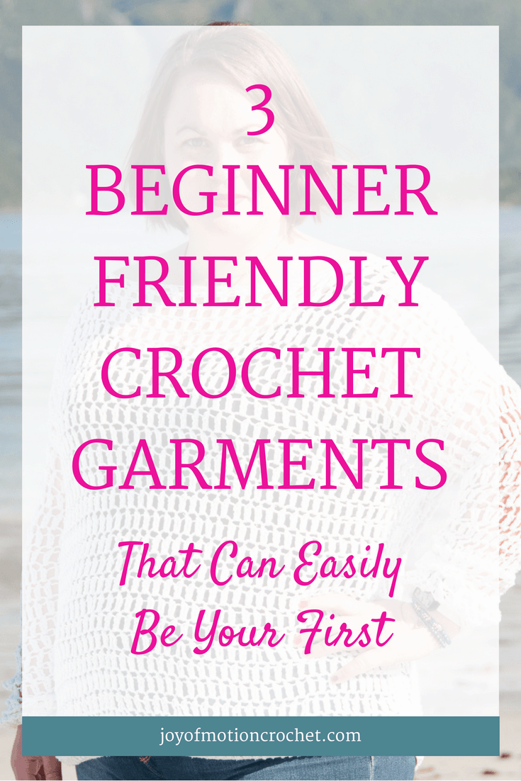 3 Beginner Friendly Crochet Garments That Can Easily Be Your First | crochet garment | beginner crochet | beginner friendly crochet | beginner garments | beginner crochet garments | easy crochet garments | easy crochet sweaters | beginner crochet sweater | easy crochet top | beginner crochet top | beginner crochet clothes | beginner crochet tutorial | crochet for beginners | crochet for anyone