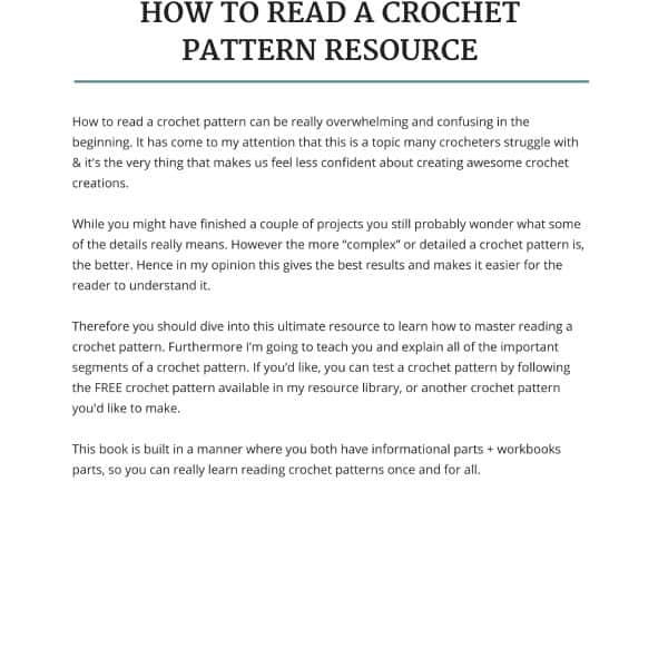 the ultimate how to read a crochet pattern resource