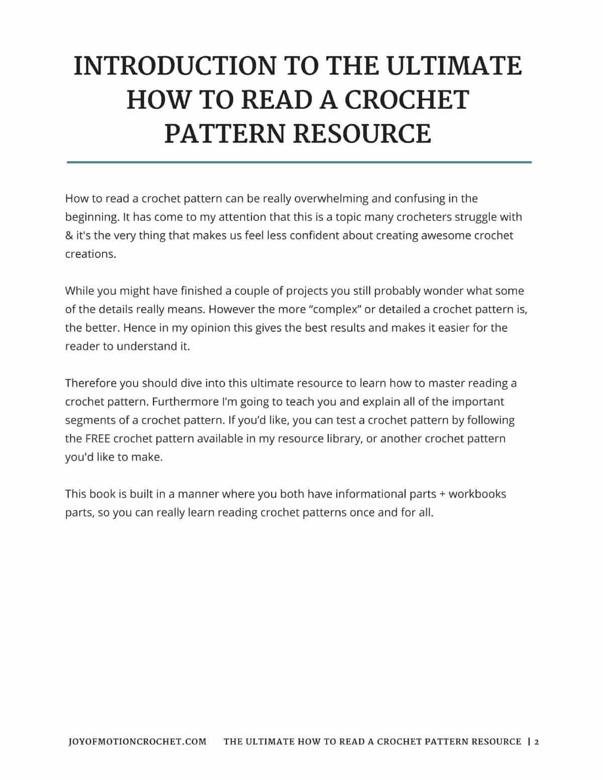 The ultimate how to read a crochet pattern resource joy of motion the ultimate how to read a crochet pattern resource dt1010fo