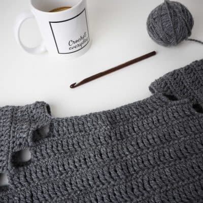 bruma sweater and dress materials needed crochet accessoires