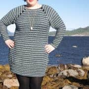 bruma sweater and dress crochet pattern design