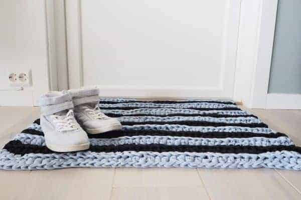 citus doormat crochet pattern design
