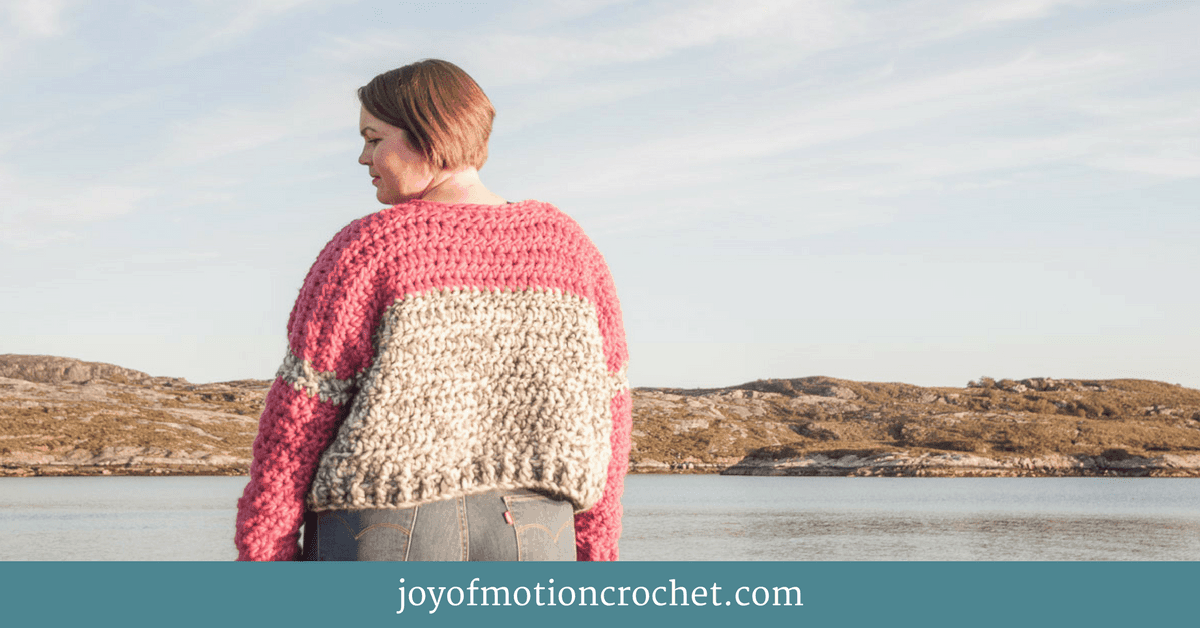 5a2ea9255 HOW TO Crochet A Sweater Even Though You re A Beginner