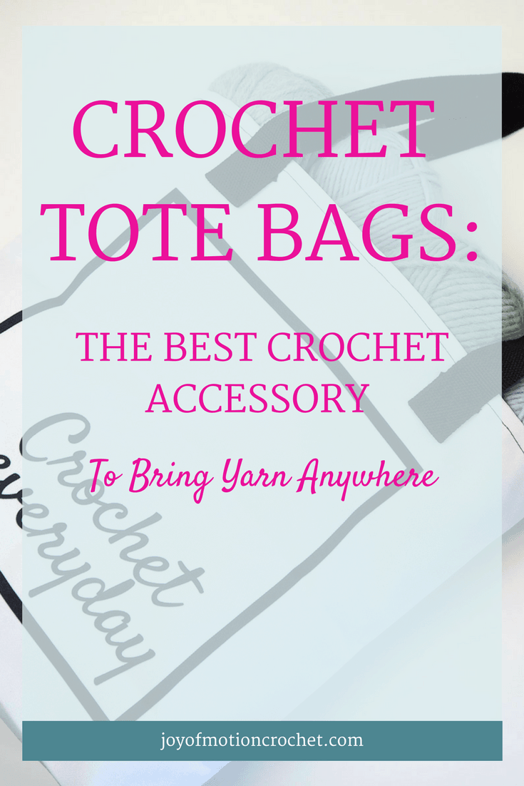 Crochet tote bags | crochet tote bag | crochet bag | crochet project bag | crochet accessory | crochet accessories