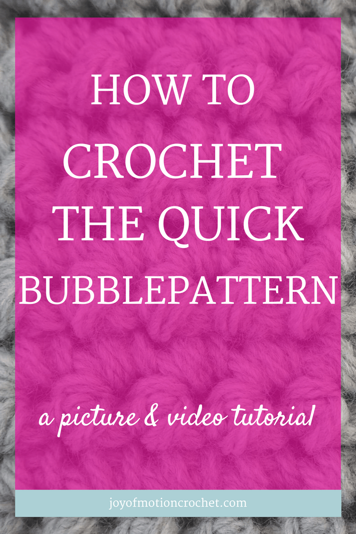 How to crochet the quick bubblepattern crochet stitch. Quick Bubblepattern | crochet stitch tutorial | easy crochet stitch | textured crochet stitch | beautiful crochet stitch | bubble crochet stitch