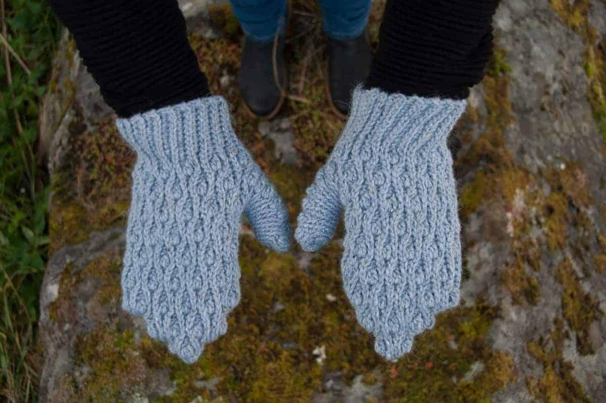Mitis Mittens Crochet Pattern Design – Skill Level Intermediate