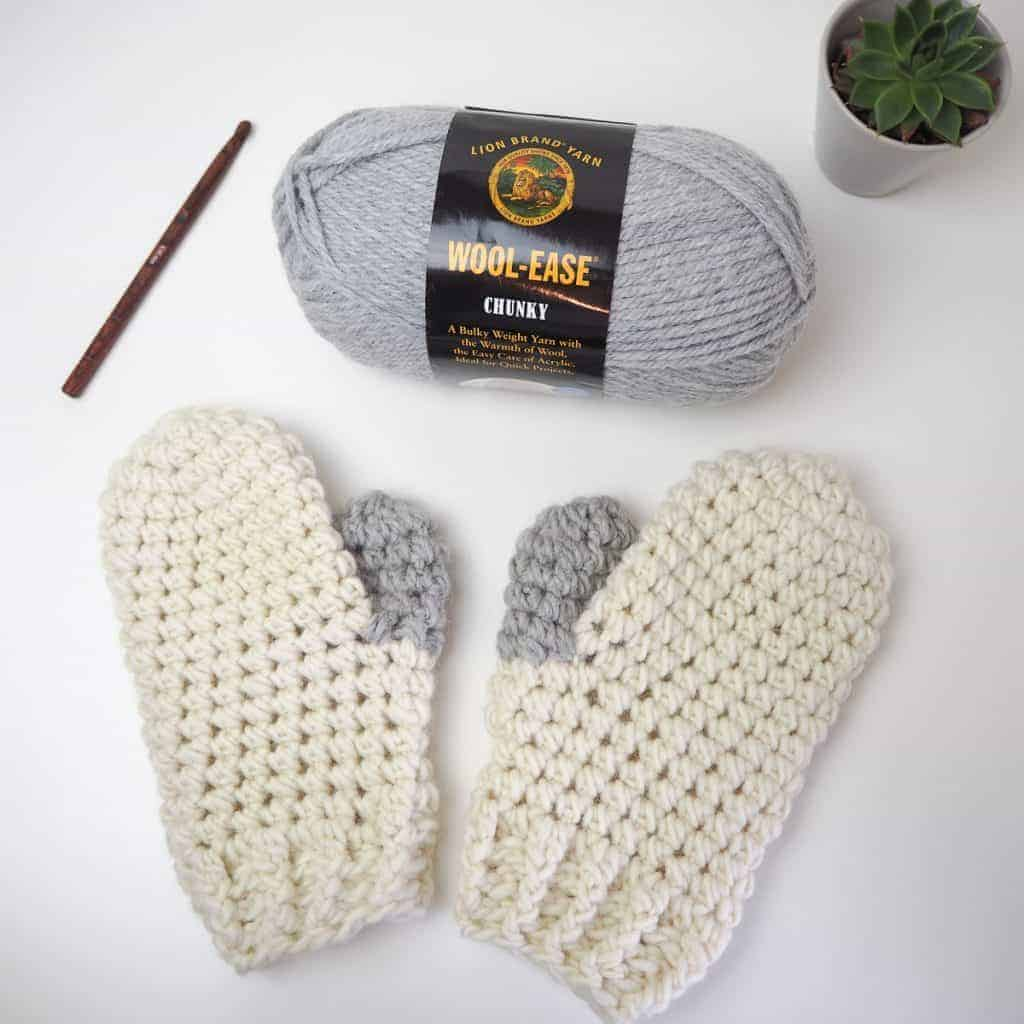 scato mittens materials needed crochet accessories