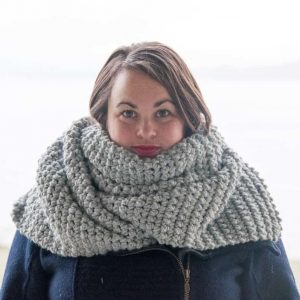 scato scarf crochet pattern design