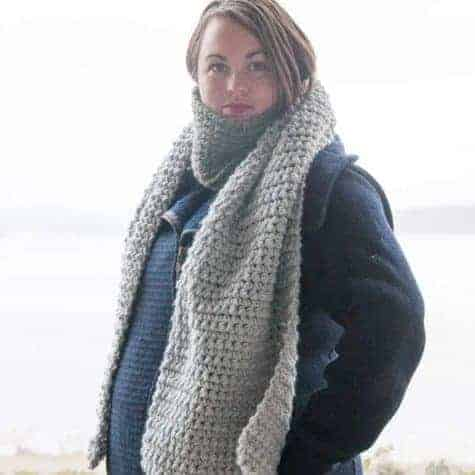 Scato Scarf Crochet Pattern Design – Skill Level Easy