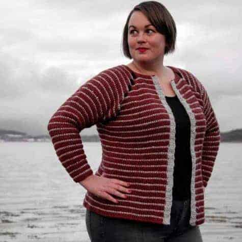 Bruma Cardigan Crochet Pattern Design – Skill Level Intermediate