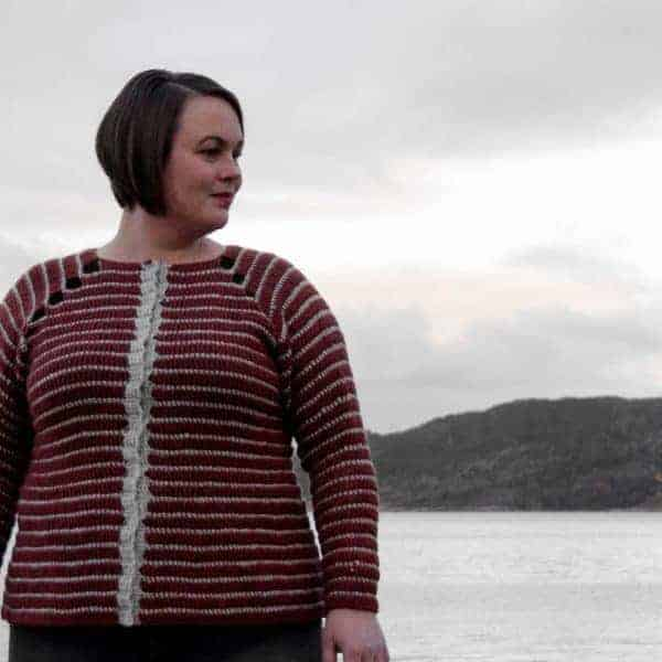 bruma cardigan crochet pattern design