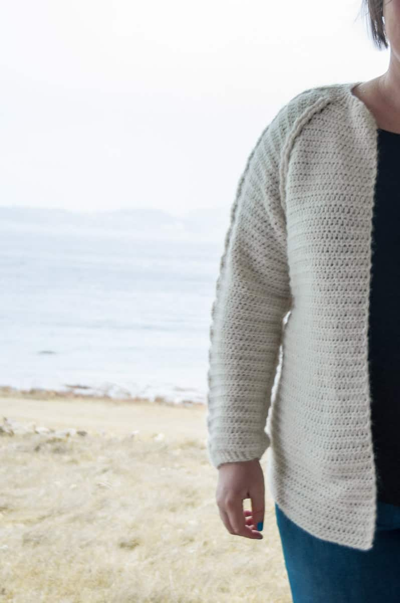 Nivis Cardigan Crochet Pattern • Intermediate Crochet • Joy of Motion