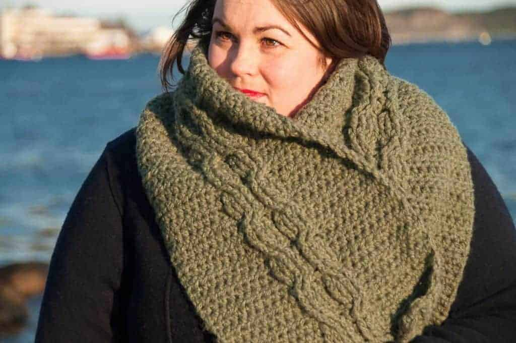 Ora Scarf crochet pattern design