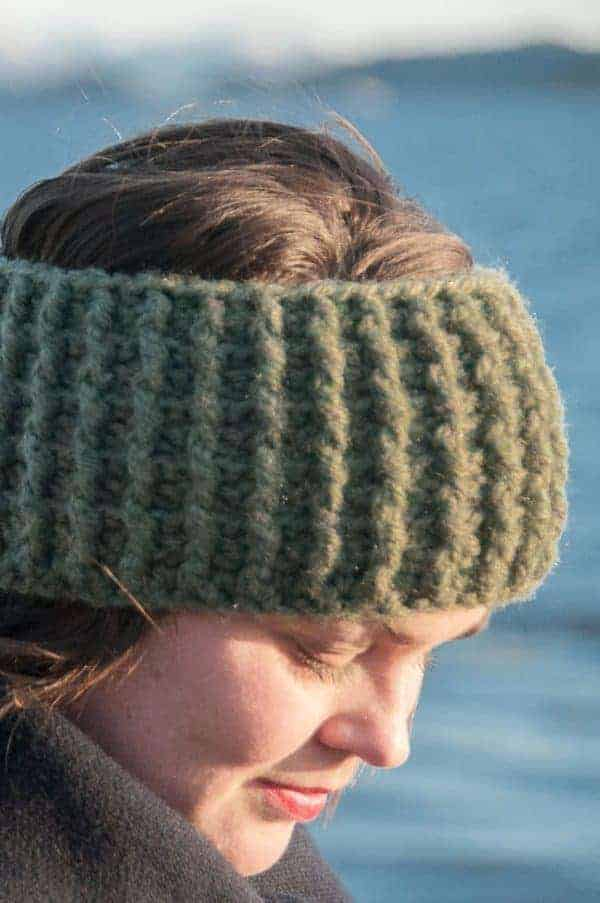 crochet gyri headband crochet pattern design