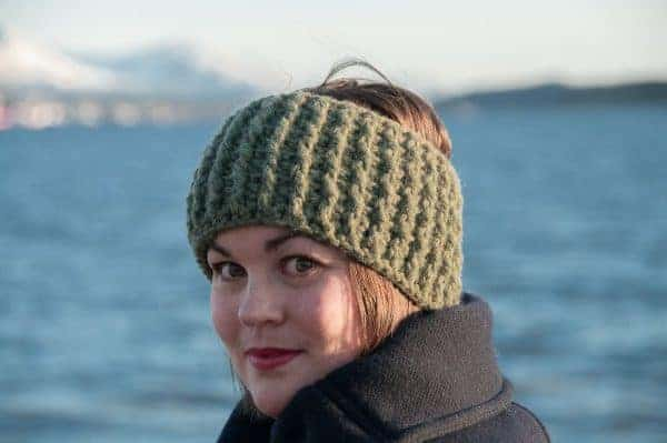 gyri headband crochet pattern design