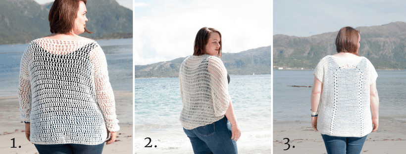 airy crochet shrug