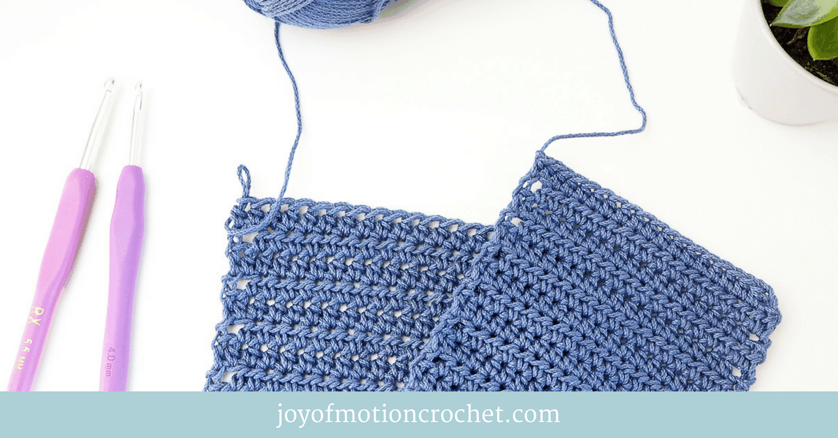 gauge swatch is important when crocheting a garment