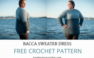 Crochet Bacca Sweater Dress – FREE Crochet Pattern