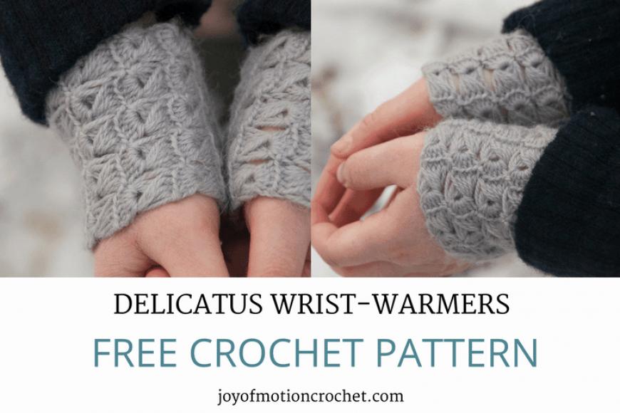 Crochet Delicatus Wrist-Warmers – Free Crochet Pattern