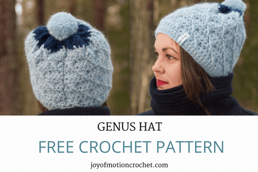 Crochet Genus Hat – Free Crochet Pattern