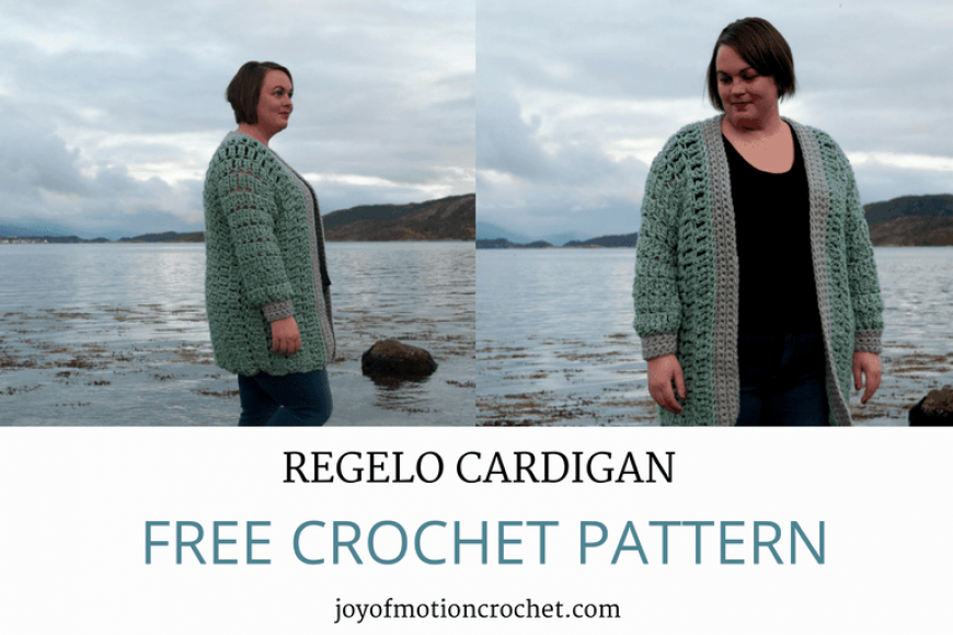Crochet Regelo Cardigan Free Crochet Pattern Joy Of Motion
