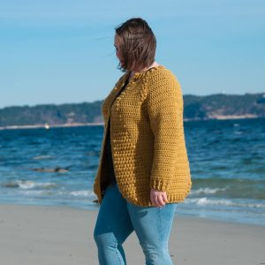 flavus cardigan crochet pattern design