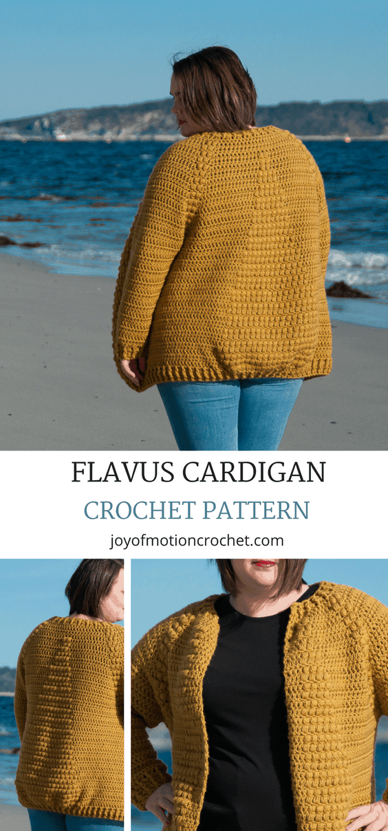 Crochet pattern for the Flavus Cardigan a crochet pattern with skill level intermediate. ..... Flavus Cardigan Crochet Pattern. Intermediate Crochet Pattern. Cardigan Crochet Pattern, Women's clothing crochet pattern. #cardigancrochetpattern #crochetcardigan #womensclothingcrochetpattern #crochetpatternforher #crochetpattern #crochet #cardigancrochet