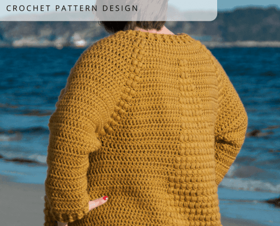 Flavus Cardigan Crochet Pattern Design – Skill Level Intermediate