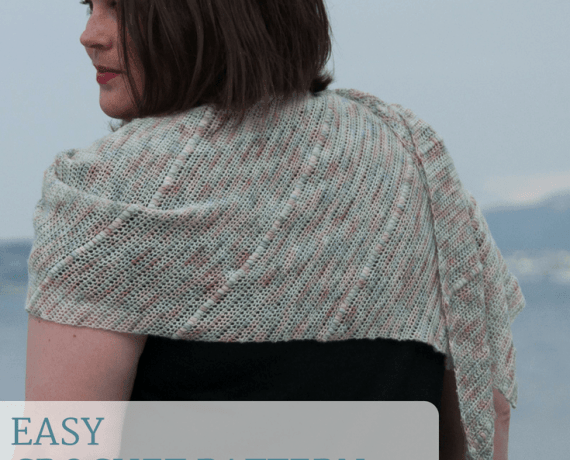 Lenio Shawl Crochet Pattern Design – Skill Level Easy