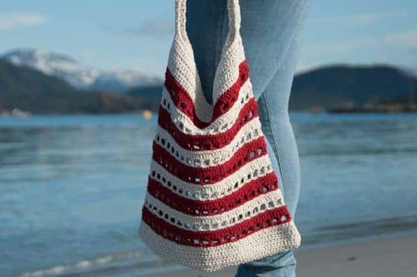 sinum bag crochet pattern design