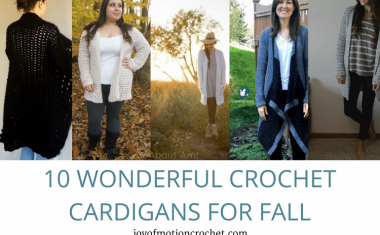 10 Wonderful Crochet Cardigans for Fall – Crochet Roundup