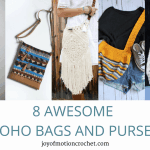 8 Awesome Boho Bags and Purses – Crochet Roundup