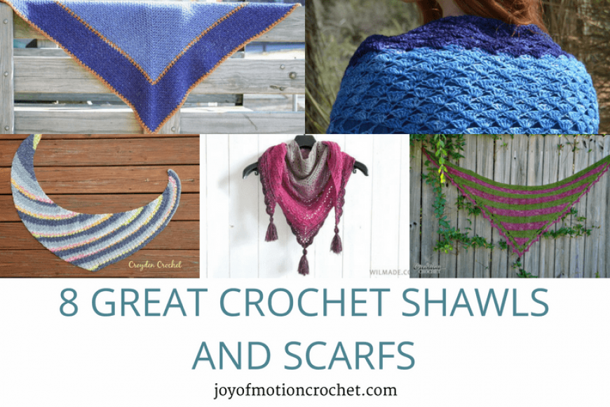 8 Great Crochet Shawls and Scarfs – Crochet Roundup